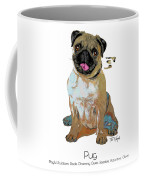 Pug Pop Art Coffee Mug