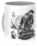 Pug Ruth  Coffee Mug by Peter Piatt