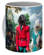 Puli Art Canvas Print - Birds And Falconers Paradise Coffee Mug