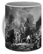 Pulling Down The Statue Of George IIi Coffee Mug by War Is Hell Store