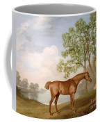 Pumpkin With A Stable-lad Coffee Mug by George Stubbs