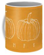 Pumpkins- Art By Linda Woods Coffee Mug