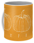 Pumpkins- Art By Linda Woods Coffee Mug