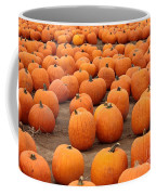 Pumpkins Waiting For Homes Coffee Mug