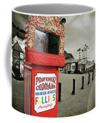 Punch And Judy Theatre On Llandudno Promenade Coffee Mug