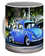 Punch Buggie Blue Coffee Mug