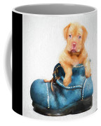 Pup In A Shoe Coffee Mug