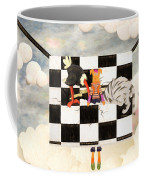 Puppet Doggy In Trouble Again Coffee Mug