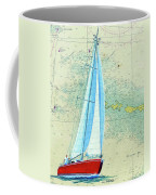 Pure Michigan Boating Coffee Mug