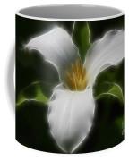 Pure White Trillium Coffee Mug