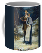 Puritans Going To Church Coffee Mug
