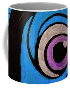 Purple And Blue Eyeball In Saint Augustine Florida Coffee Mug