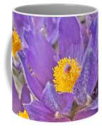 Purple And Gold - Bright Coffee Mug