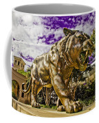 Purple And Gold Coffee Mug by Scott Pellegrin