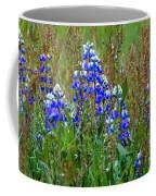 Purple And Grass Coffee Mug