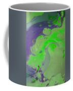 Purple And Green Coffee Mug