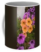 Purple And Peach Coffee Mug