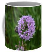 Purple And The Bee Coffee Mug