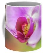 Purple And White Orchid 2 Coffee Mug