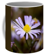 Purple And Yellow Flower Coffee Mug