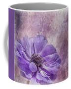 Purple Anemone Art Coffee Mug