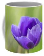 Purple Anemone Flower Coffee Mug