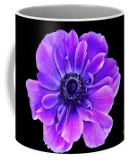 Purple Anemone Flower Coffee Mug