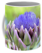 Purple Artichoke Flower  Coffee Mug