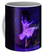 Purple Ballet Dancer Coffee Mug