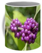 Purple Beautyberries Coffee Mug