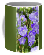Purple Bell Flowers Coffee Mug