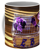 Purple Birdhouses 1 Coffee Mug