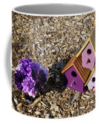 Purple Birdhouses 2 Coffee Mug