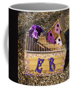 Purple Birdhouses 3 Coffee Mug