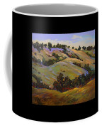 Purple Blooms And Oaks Coffee Mug