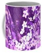 Purple Blossoms Coffee Mug