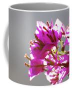 Purple Bougainvillea Flower Coffee Mug