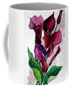 Purple Callas Coffee Mug