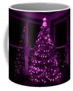 Purple Christmas Coffee Mug