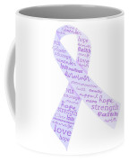 Purple Courage Coffee Mug