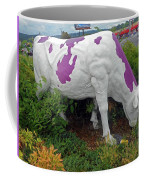 Purple Cow 4 Coffee Mug