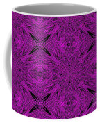 Purple Crossed Arrows Abstract Coffee Mug