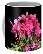 Purple Cyclamen Coffee Mug