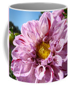 Purple Dahlia Flowers Pink Floral Art Prints Canvas Garden Baslee Troutman Coffee Mug