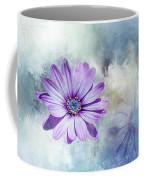 Purple Daisy Swirl Coffee Mug