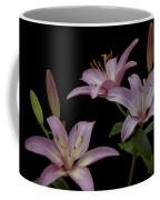 Purple Day Lilies Coffee Mug