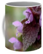 Purple Deadnettle Bloom Coffee Mug