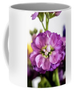 Purple Delphinium Coffee Mug