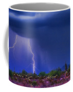 Purple Desert Storm Coffee Mug