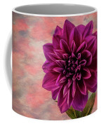Purple Dhalia Coffee Mug